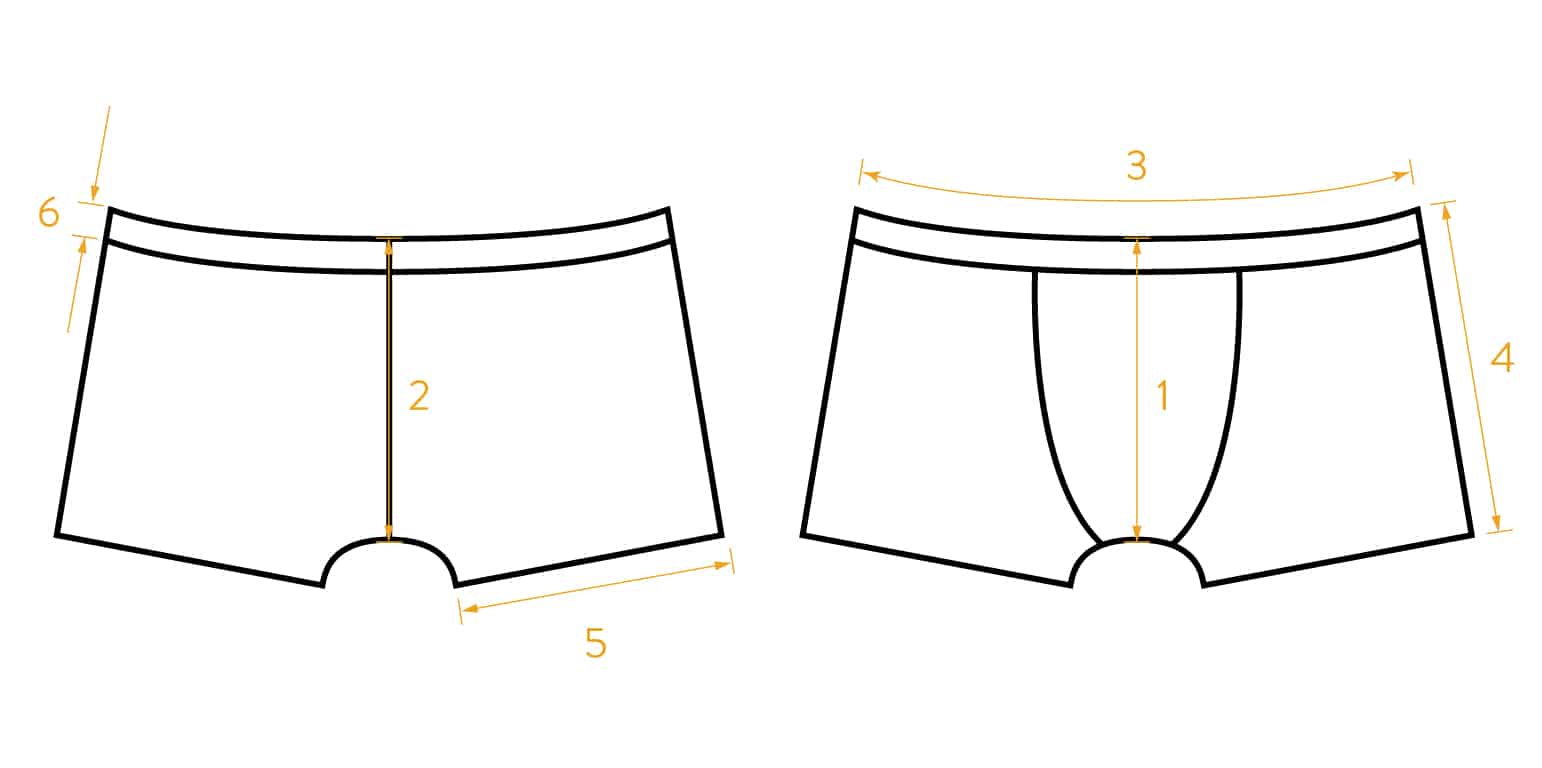 Stretch Cotton Trunks - Trio - 3 pieces