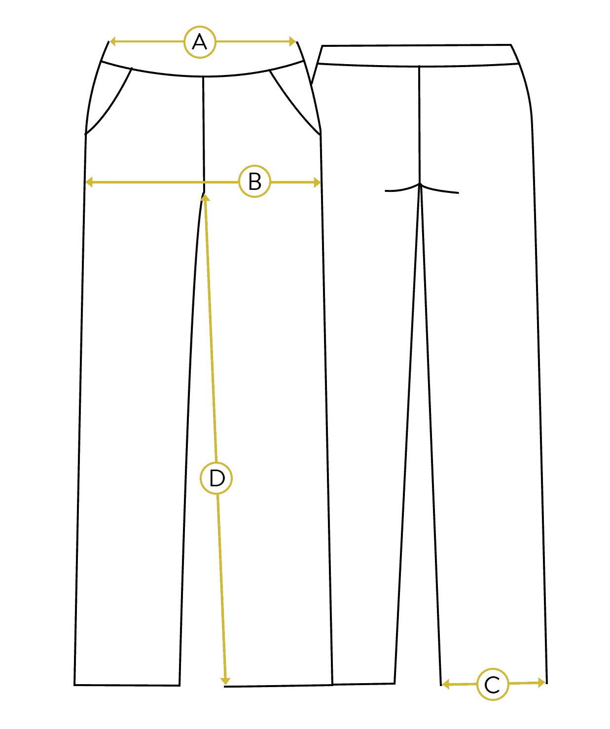 Men Indigo Pyjama Set